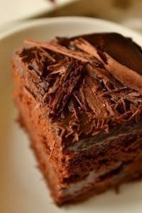 Шоколадный торт для вегетарианцев