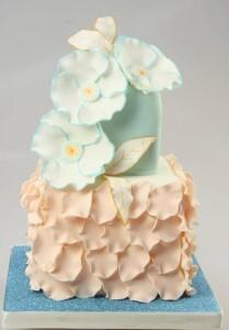 Как украсить торт – продолжаем учиться, новые идеи-шаг 1