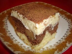 Творожный торт Разноцветный