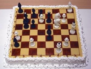 Торт Шахматы – видео-рецепт-шаг 1