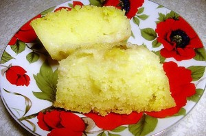 Манный торт в мультиварке. Манный торт с лимонами