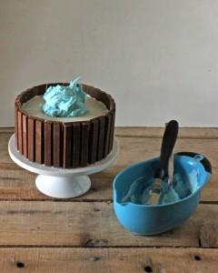 Как украсить торт. Приготовьте оригинальный торт Кадка с рыбками!-шаг 2