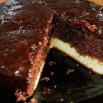 Шоколадный торт с творожной начинкой – рецепт приготовления в мультиварке