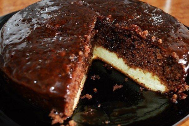 торт шоколадный с шоколадом в мультиварке рецепты с фото