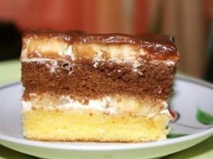 Сметанный торт простого приготовления
