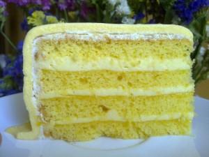 Масляный крем-мусс лимонный-шаг 1