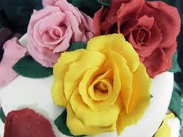 Как сделать розы из мастики – простое изготовление. Видео-шаг 3