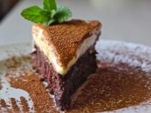 Сливочный крем-мусс с шоколадом