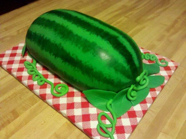 Торт арбуз рецепт пошагово