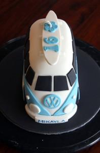 3D торт Автобус. Как украсить детский торт – мастер-класс-шаг 5
