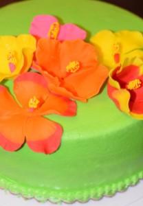 Цветы из мастики – делаем гибискус. Мастер-класс