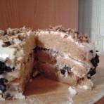 Бисквитный торт со сметанным кремом – рецепт торта в мультиварке