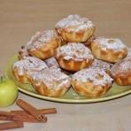 Яблочные капкейки простого приготовления