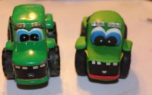 3 D торт Трактор. Как сделать 3D торт для мальчика