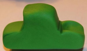 3 D торт Трактор. Как сделать 3D торт для мальчика-шаг 1