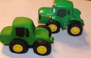 3 D торт Трактор. Как сделать 3D торт для мальчика-шаг 5