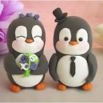 Животные из мастики – пингвин. Видео-шаг 1