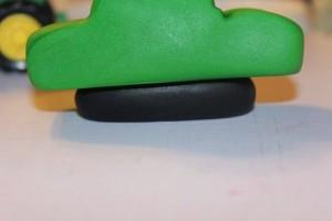 3 D торт Трактор. Как сделать 3D торт для мальчика-шаг 4