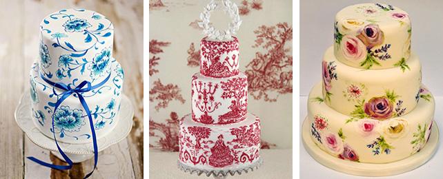 Как сделать крем для росписи торта