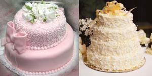 Как украсить кремом торт – видео