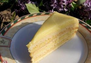 Восхитительный торт с заварным творожным кремом