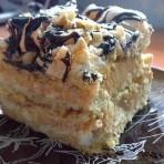 Торт Сникерс – невероятно воздушный!