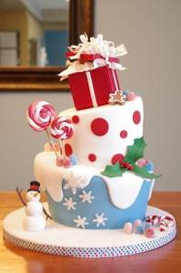 Новогодний торт – как украсить. Много интересных идей!-шаг 7