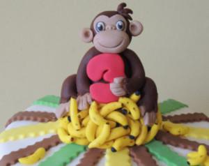 Банан из мастики. Отличная фигурка для украшения новогоднего торта 2016 года!