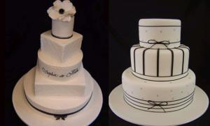 Как украсить свадебный торт – история одного торта-шаг 6