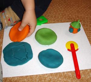 Как сделать съедобный пластилин-шаг 2