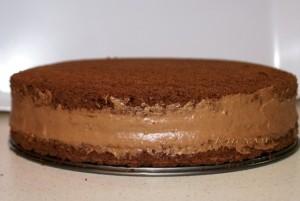 Масляный шоколадно-кофейный крем-шаг 1