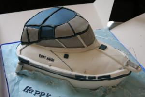 3D торт Лодка-яхта – мастер класс