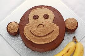 Торт Обезьяна. Торт на Новый год Обезьяны - видео-шаг 1
