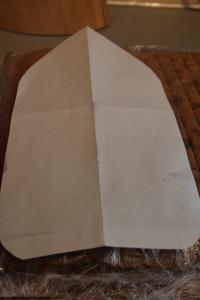 3D торт Лодка-яхта – мастер класс-шаг 1