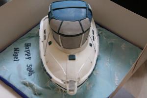 3D торт Лодка-яхта – мастер класс-шаг 6