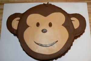 Торт Обезьяна. Торт на Новый год Обезьяны - видео-шаг 2