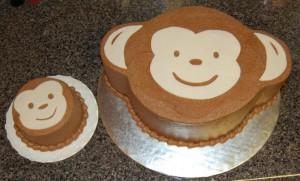 Торт Обезьяна. Как украсить торт на год Обезьяны