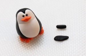 Пингвин из мастики – мастер-класс-шаг 3