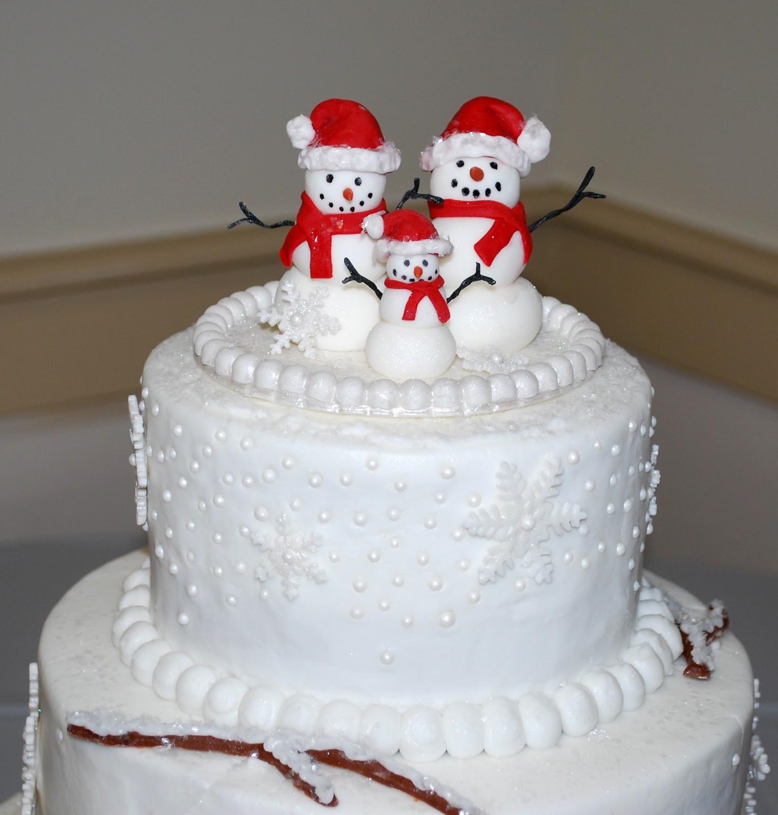 Снеговик из мастики пошагово