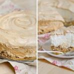 Меренговый торт с орехами