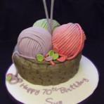 Торт из мастики Корзина. Мастер-класс