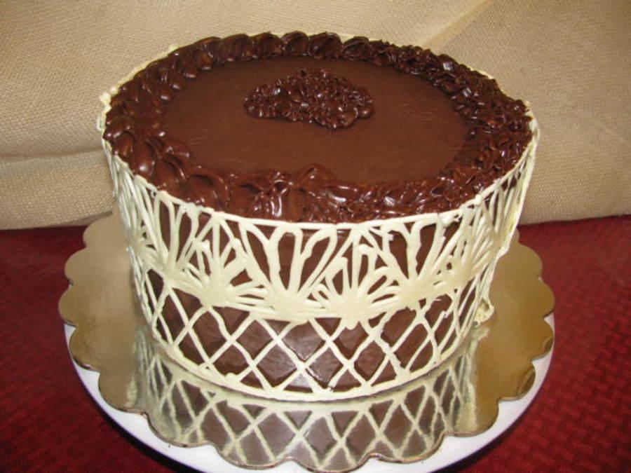 Украшение торта шоколадом в домашних условиях: фото, видео ...