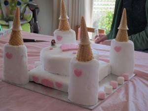 Детский торт Замок