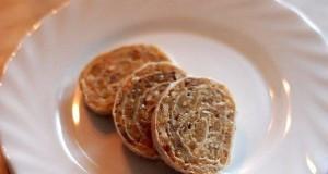 Обалденный рулет с грецкими орехами простого приготовления из лаваша
