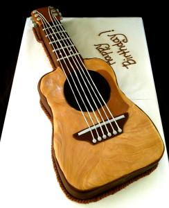 Торт из мастики Скрипка. Порадуем музыкантов!-шаг 3