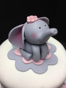 Животное из мастики – делаем милого слоненка!