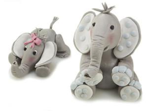 Животное из мастики – делаем милого слоненка!-шаг 1