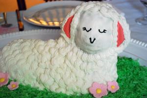 Пасхальный барашек – как украсить блюдо к Пасхе. Мастер-класс - шаг 5