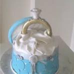 Как украсить свадебный торт? Замечательные идеи со свадебными кольцами из мастики!-шаг 1