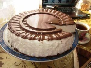 Еще один рецепт торта Птичье молоко! Торт без выпекания